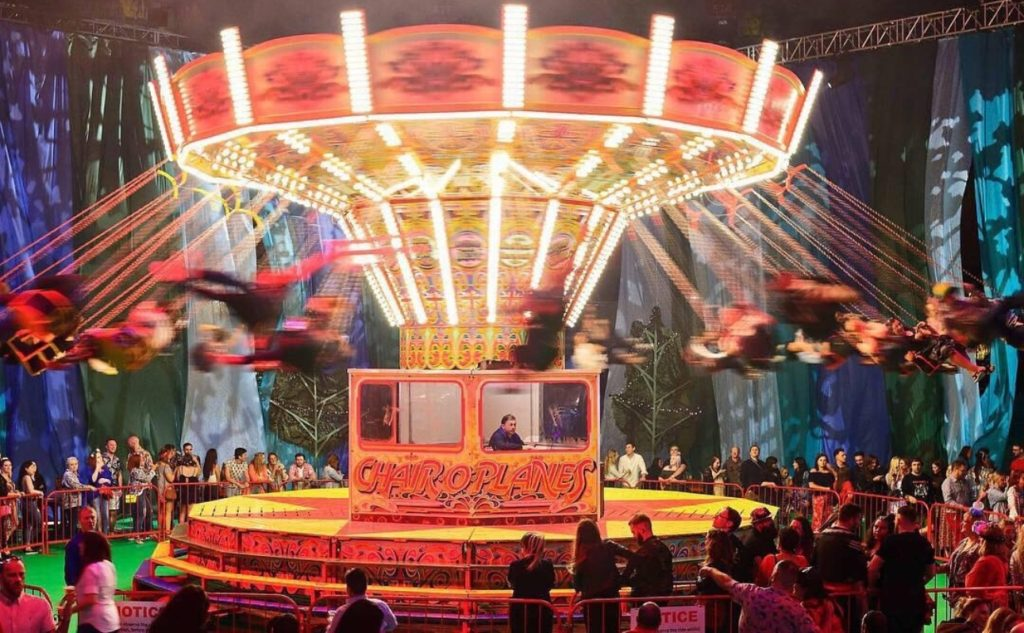 Fairground for event experiences in Cardiff blog