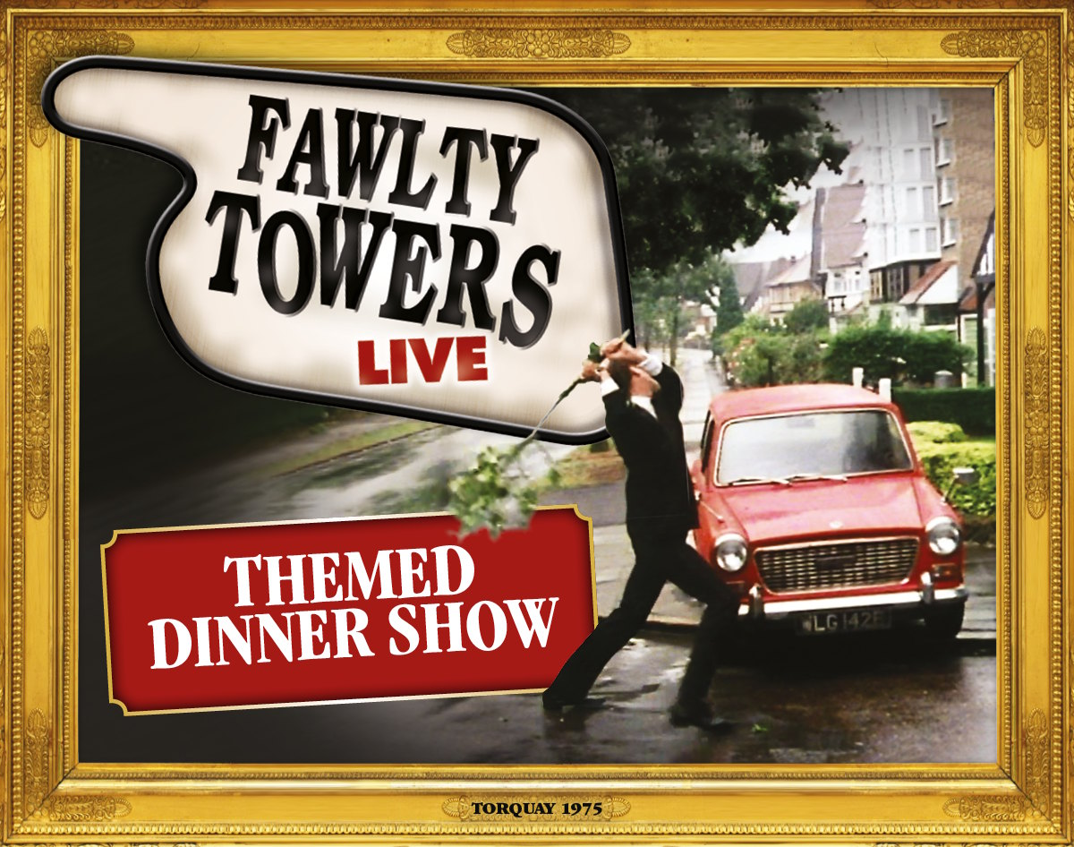 FAWLTY TOWERS DINING EXPERIENCE on the 19th October