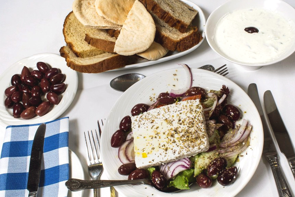 Greek Meze collection from Cardiff and Swansea - spiros